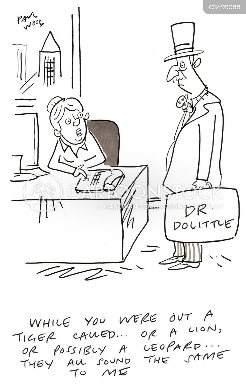 dr. dolittle cartoon
