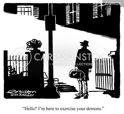 exorcists cartoon