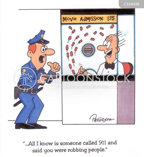 cinema goers cartoon