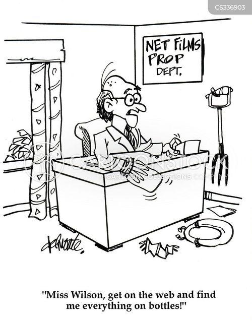 film production cartoon
