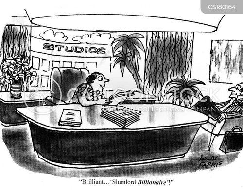 film makers cartoon