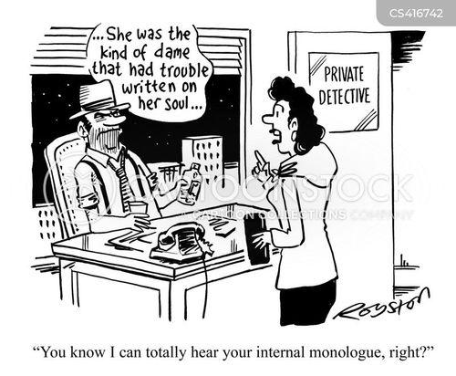 internal monologues cartoon