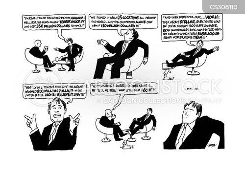 box office cartoon
