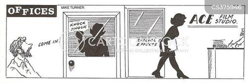 film studio cartoon