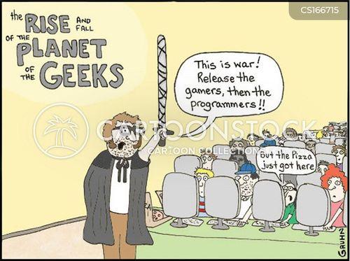 battle cartoon