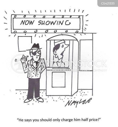 cinema trips cartoon