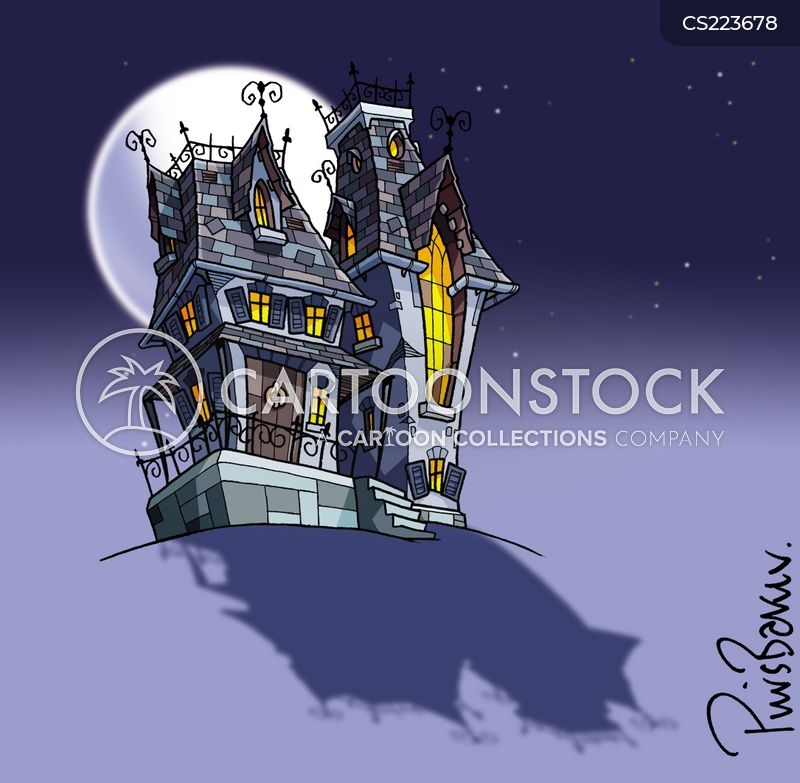 Spooky House Cartoons And Comics Funny Pictures From