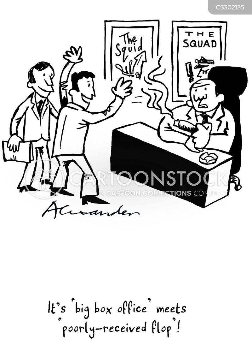 box offices cartoon