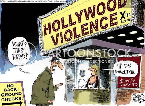 desensitized cartoon