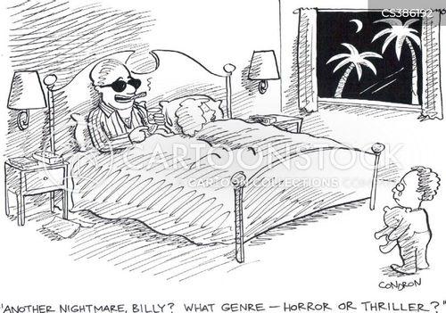 thrillers cartoon