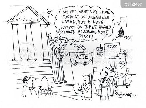 organised labor cartoon