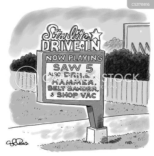slasher cartoon