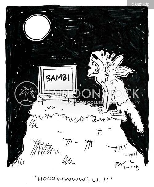 fawns cartoon