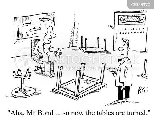 visual humour cartoon