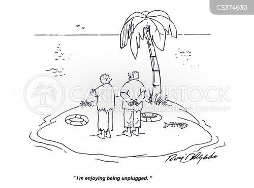 unplugged cartoon