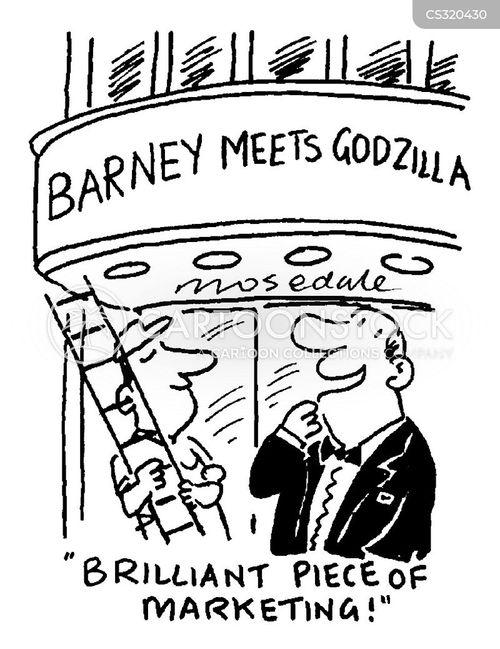 barney cartoon