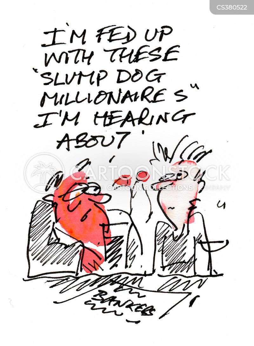 economic slumps cartoon