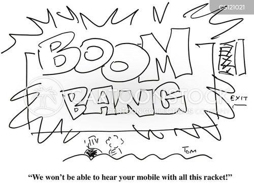 ringing phone cartoon