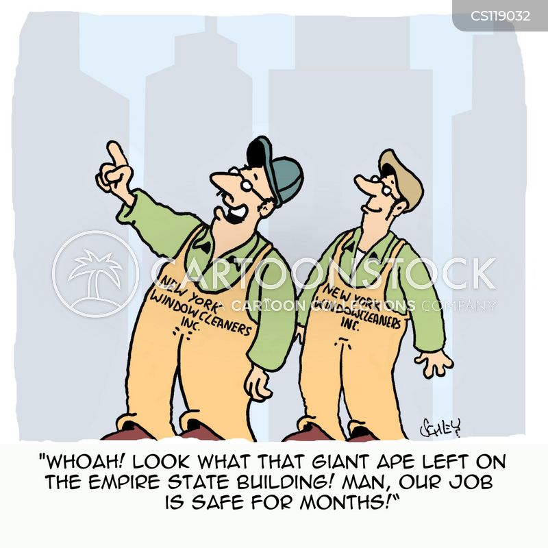 job-security cartoon