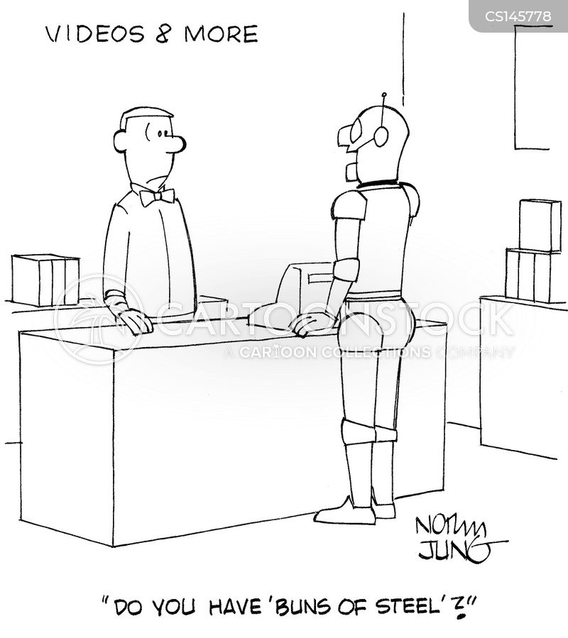 dvd stores cartoon