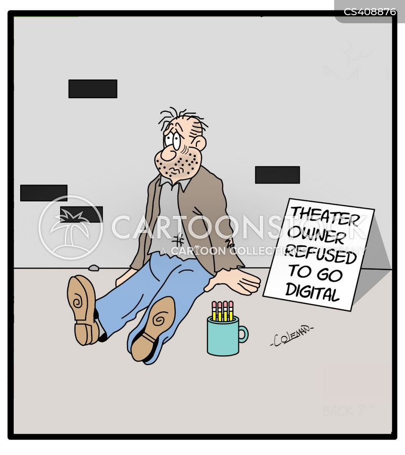 Projector Cartoons and Comics - funny pictures from CartoonStock