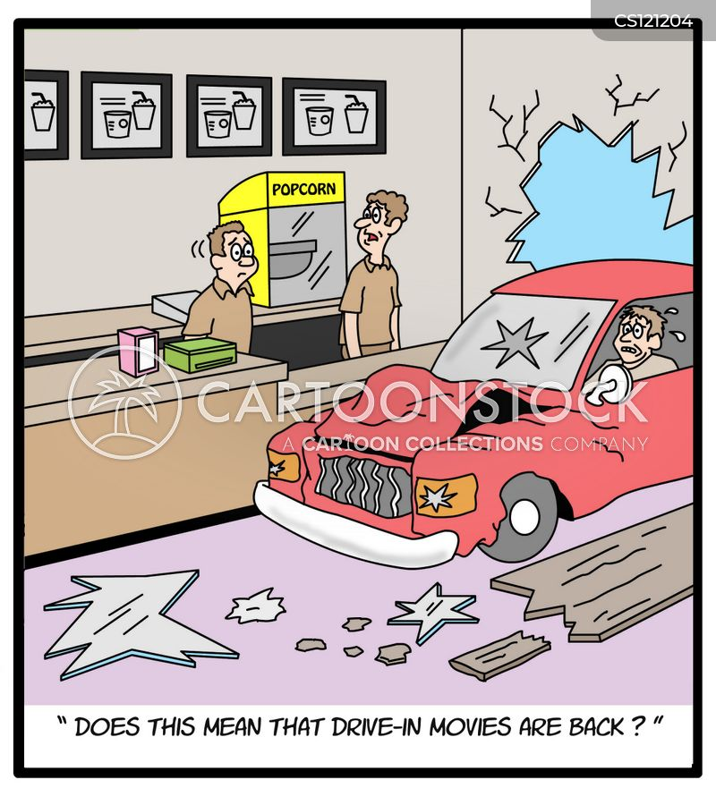 drive-ins cartoon