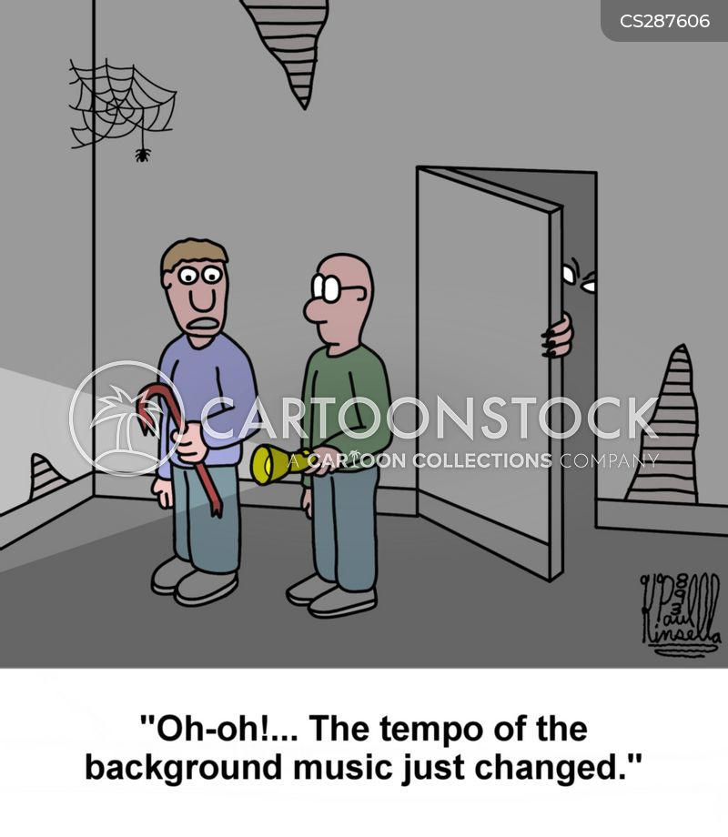 suspense cartoon
