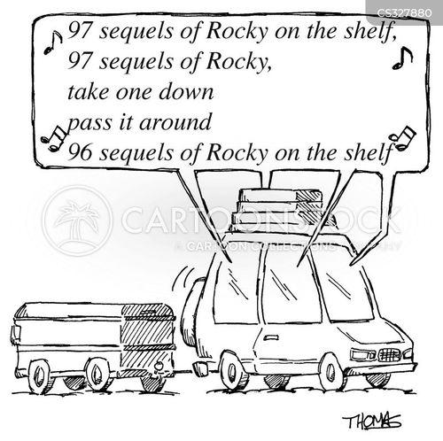 rocky cartoon