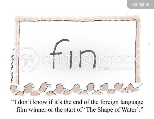 academy awards cartoon