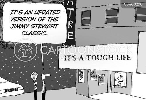 tough times cartoon
