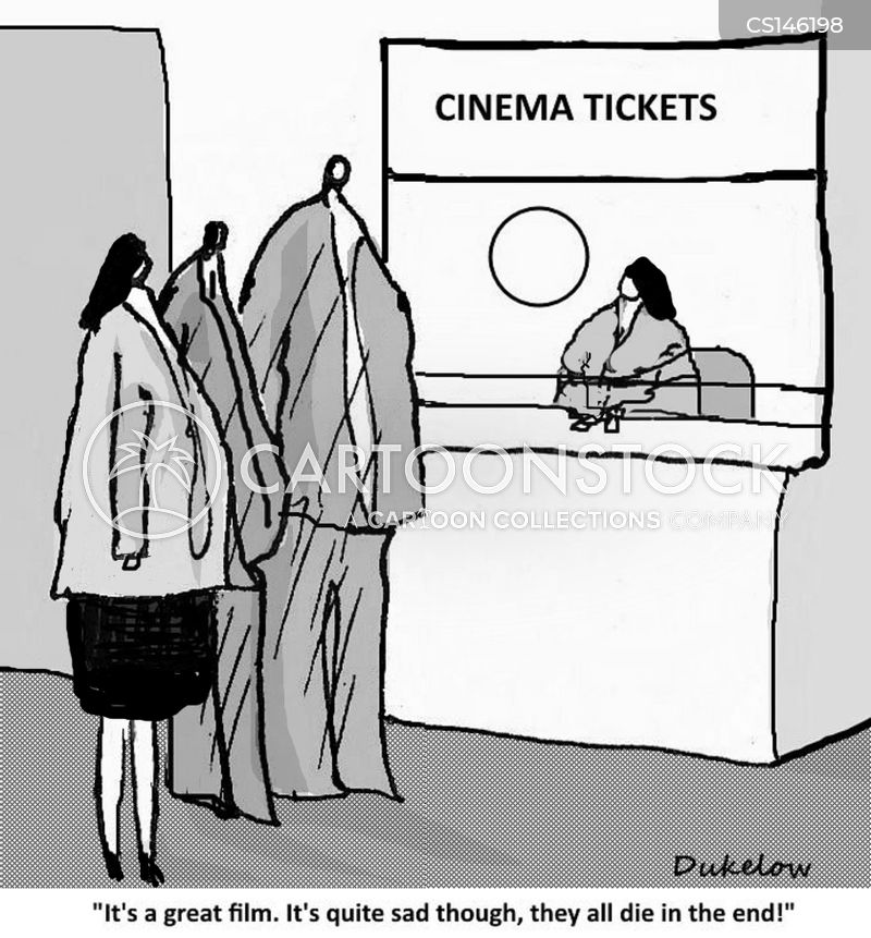 cinema etiquette cartoon