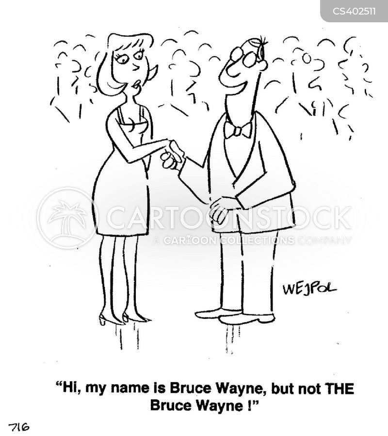 famous name cartoon