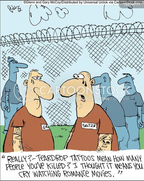 teardrop cartoon