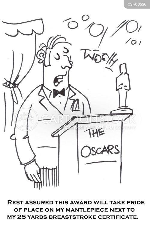 oscar cartoon