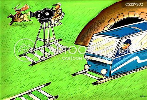 train drivers cartoon