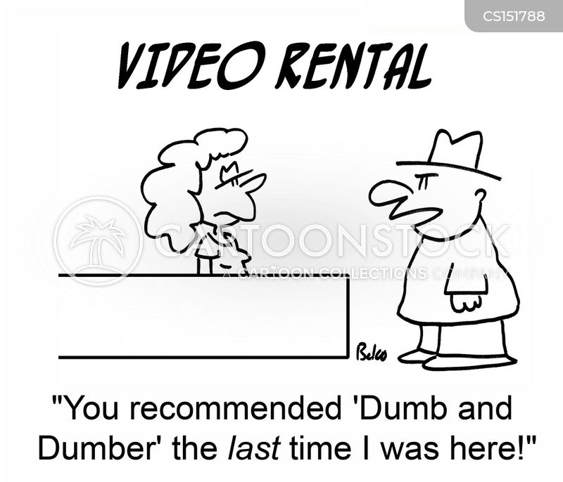 film rental cartoon