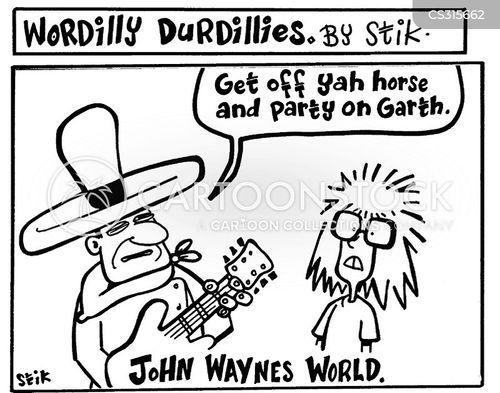 waynes world cartoon