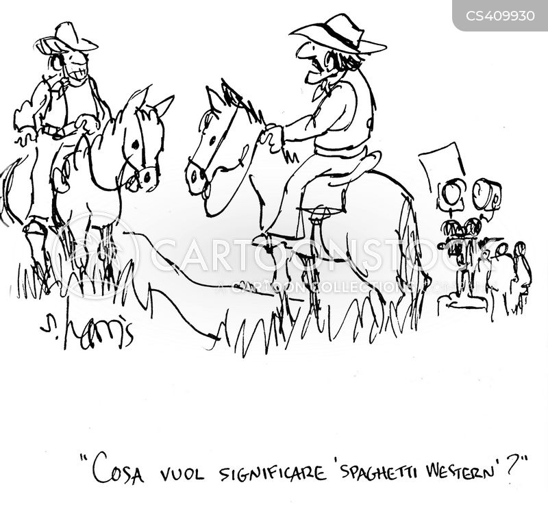 western movies cartoon