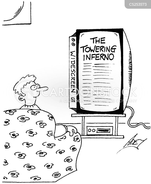 wide screen tv cartoon