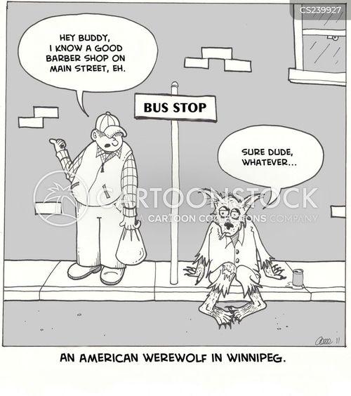 american slang cartoon