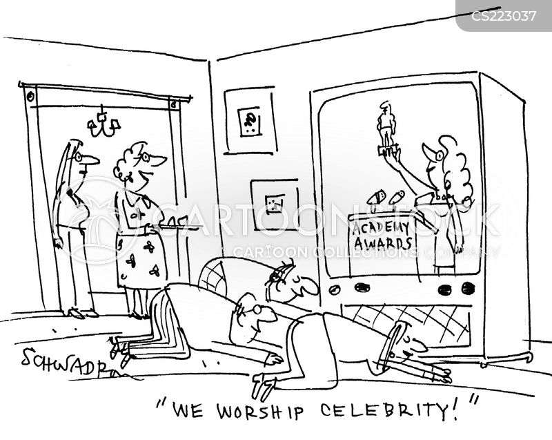 celeberity cartoon