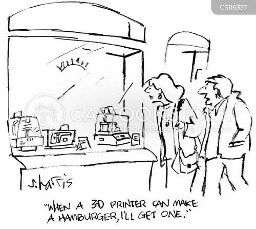 third dimension cartoon