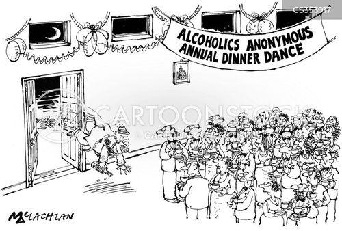 annual dinner cartoon
