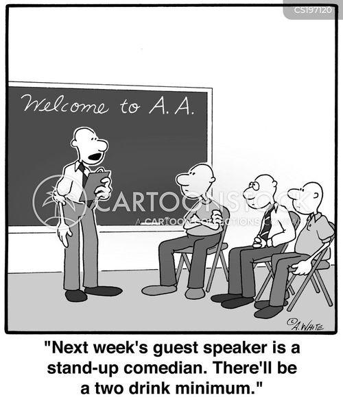 self-help group cartoon