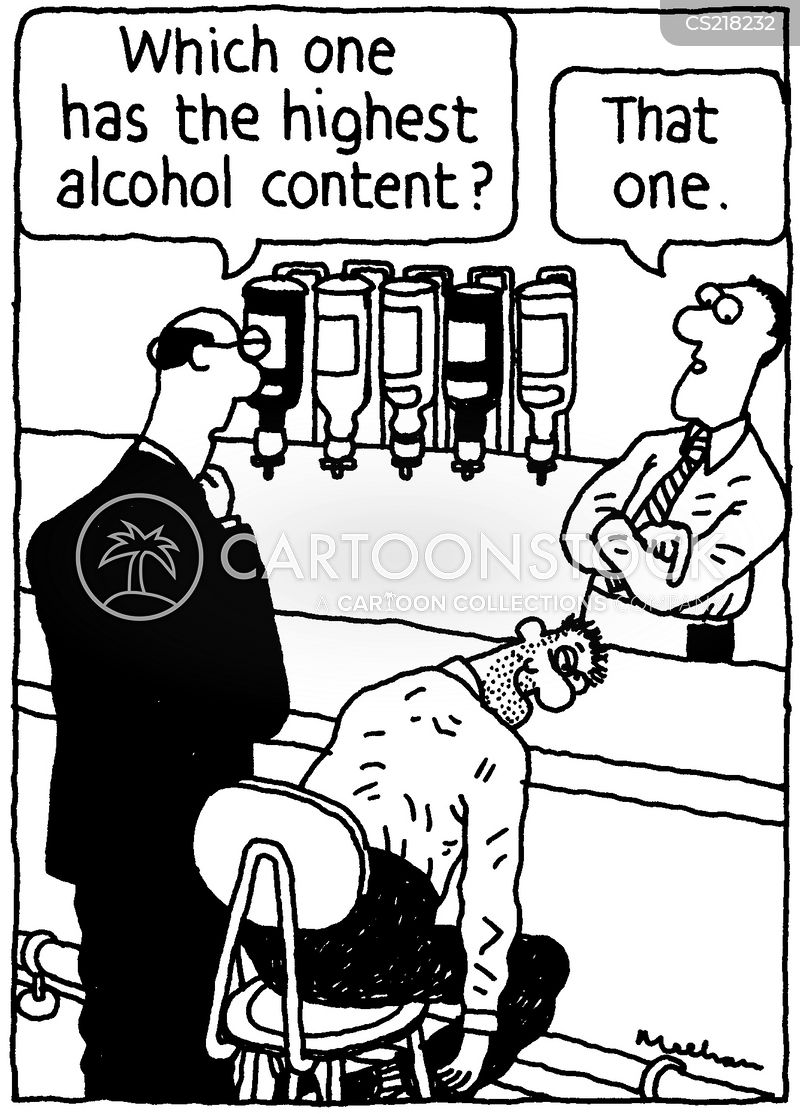 alcohol content cartoon