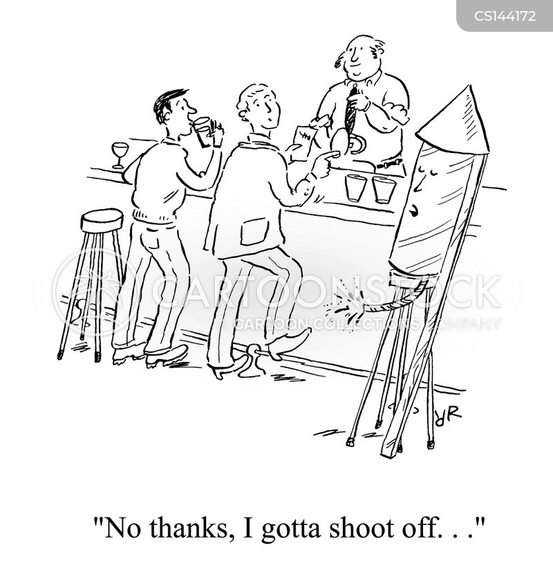 gun powder cartoon