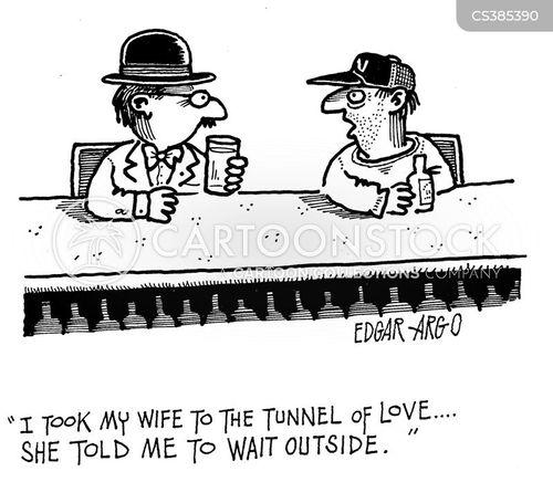 failed marriages cartoon