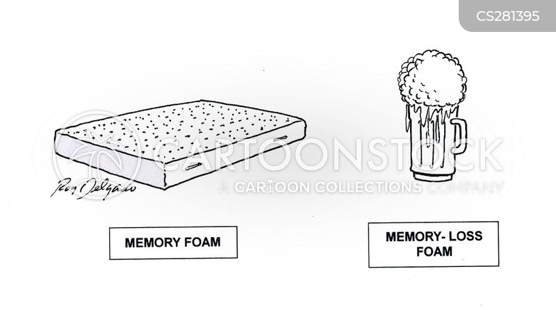 foam cartoon