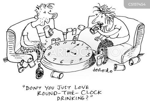 intoxication cartoon