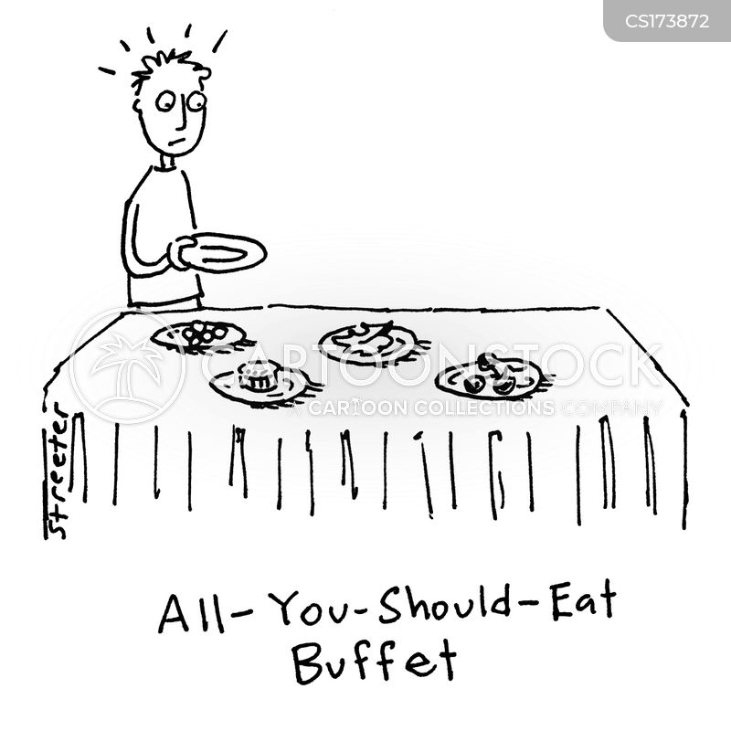 healthy foods cartoon